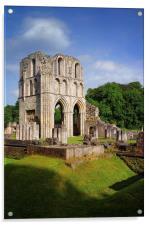 Roche Abbey Ruins 2, Acrylic Print