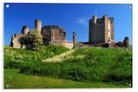 Conisbrough Castle , Acrylic Print