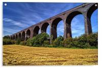 Conisbrough Viaduct , Acrylic Print