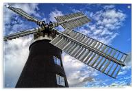 North Leverton Windmill  , Acrylic Print