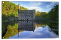 Gibson Mill, Hardcastle Crags, Hebdon Bridge , Acrylic Print