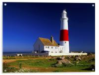 Portland Bill Lighthouse, Acrylic Print