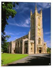 Holy Trinity Church, Exmouth, Acrylic Print