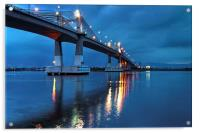 Marcelo Fernan Bridge , Acrylic Print
