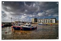 West Bay Harbour , Acrylic Print