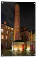 Butcher Works, Sheffield                    , Acrylic Print