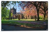 St Mary Magdelene Church, Whiston                 , Acrylic Print