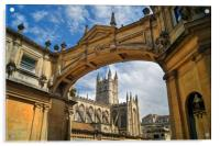 Bath Abbey and Arch                    , Acrylic Print