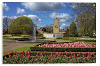 Cenotaph and Gardens, Clifton Park, Rotherham