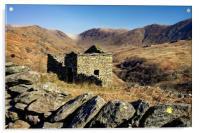Abandoned Barn,Kirkstone Pass,Lake District       , Acrylic Print