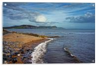 Golden Cap and Jurassic Coastline                 , Acrylic Print