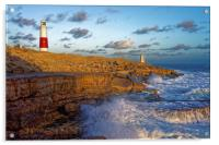 Portland Bill Lighthouse                          , Acrylic Print