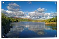 Burrator Reservoir                      , Acrylic Print