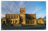 Sherborne Abbey                       , Acrylic Print