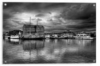 Gloucester Docks                               , Acrylic Print
