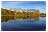 Chard Reservoir                             , Acrylic Print