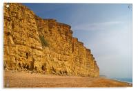East Cliff,West Bay                     , Acrylic Print