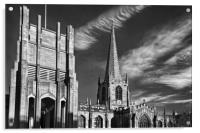 Sheffield Cathedral                    , Acrylic Print