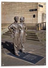 Women of Steel, Sheffield                      , Acrylic Print