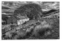 Old Farmhouse,Hope Valley                        , Acrylic Print