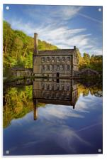 Portrait of Gibson Mill                           , Acrylic Print