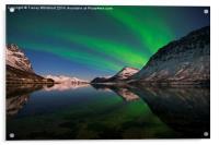 Reflections of Aurora, Acrylic Print