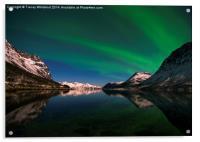 Aurora Reflections, Acrylic Print