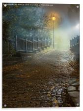 Saltaire Albert Terrace, Acrylic Print