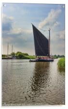 Albion on the River Thurne, Acrylic Print