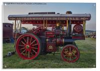 Showmans Engine, Acrylic Print
