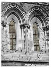 The window, Acrylic Print
