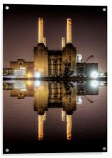 Battersea Power Station, Acrylic Print