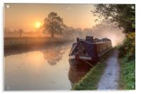Hatton - Grand Union Canal., Acrylic Print