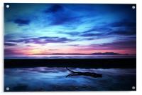 Sunset Over Troon Beach, Acrylic Print