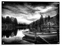 Loch Ard Scotland, Acrylic Print