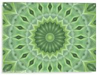 Green Beauty, Acrylic Print
