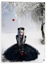 Gothic Winter, Acrylic Print