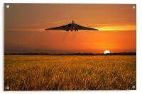 Vulcan Farewell Fly Past, Acrylic Print