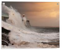 Porthcawl Lighthouse, Acrylic Print
