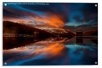 Howden Glow, Acrylic Print