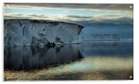 Iceberg in the Ross Sea at Night, Acrylic Print