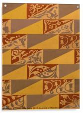 Wall Pattern, Acrylic Print