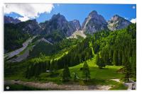 Alpine majesty, Acrylic Print