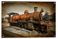 End of the Line, Acrylic Print