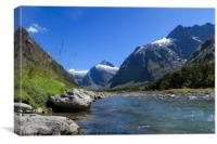 Fiordland New Zealand, Canvas Print