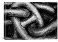 Chains, Canvas Print