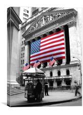 New York Stock Exchange, Canvas Print