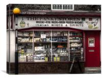 The Panky Stores, Canvas Print