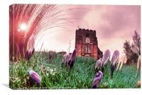 St. Mary's Church, Goudhurst, Canvas Print