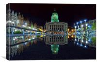 The Mirrored Square, Canvas Print